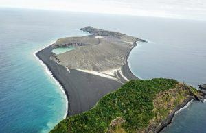 Новый остров в Тихом океане