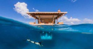 Подводный отель в Африке